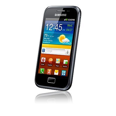 Samsung Galaxy Ace Plus Oferta de Paste la Vodafone, cu bonus Internet pe mobil