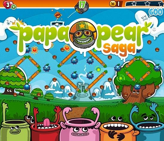 Papa Pear Saga Papa Pear Saga   joc pentru dispozitive mobile